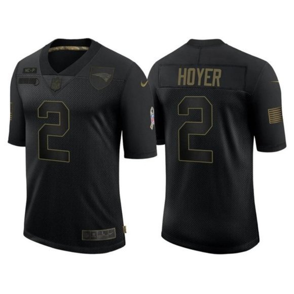 New England Patriots Brian Hoyer Jersey
